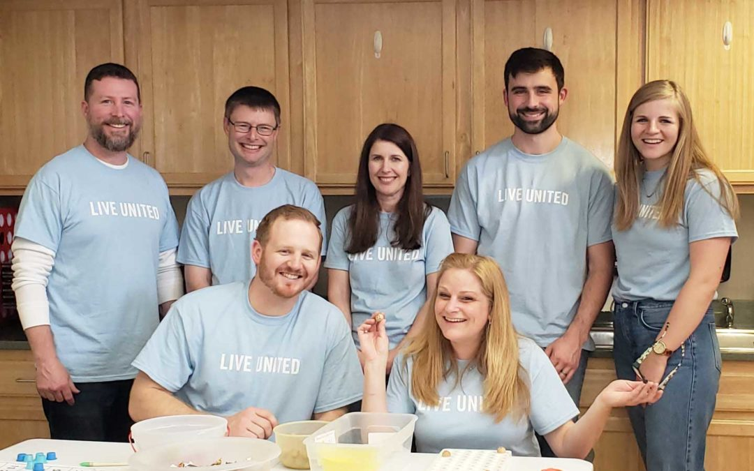 CMT Volunteers at the United Way Spring 2019 Day of Action in Springfield, IL