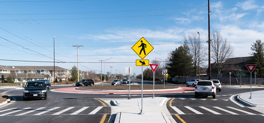 New Springfield Roundabout Opens