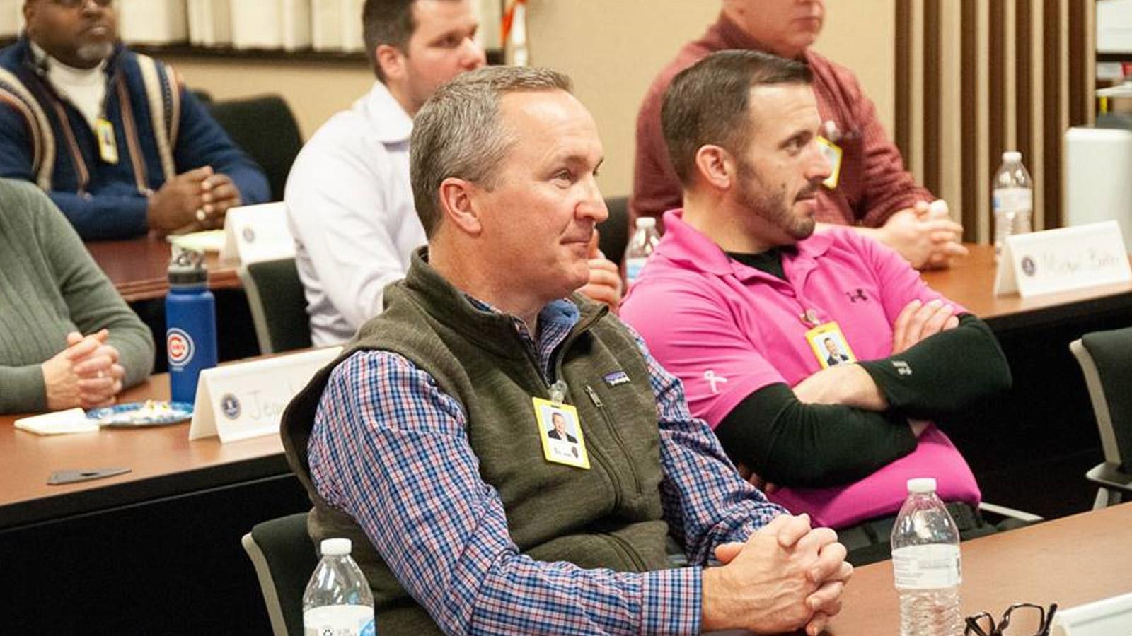 Matt Overbey at FBI Citizens Academy