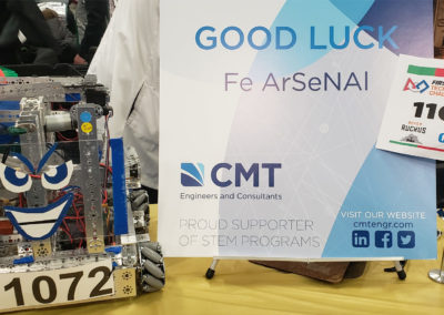 FTC Challenge Table with Display and CMT Sign