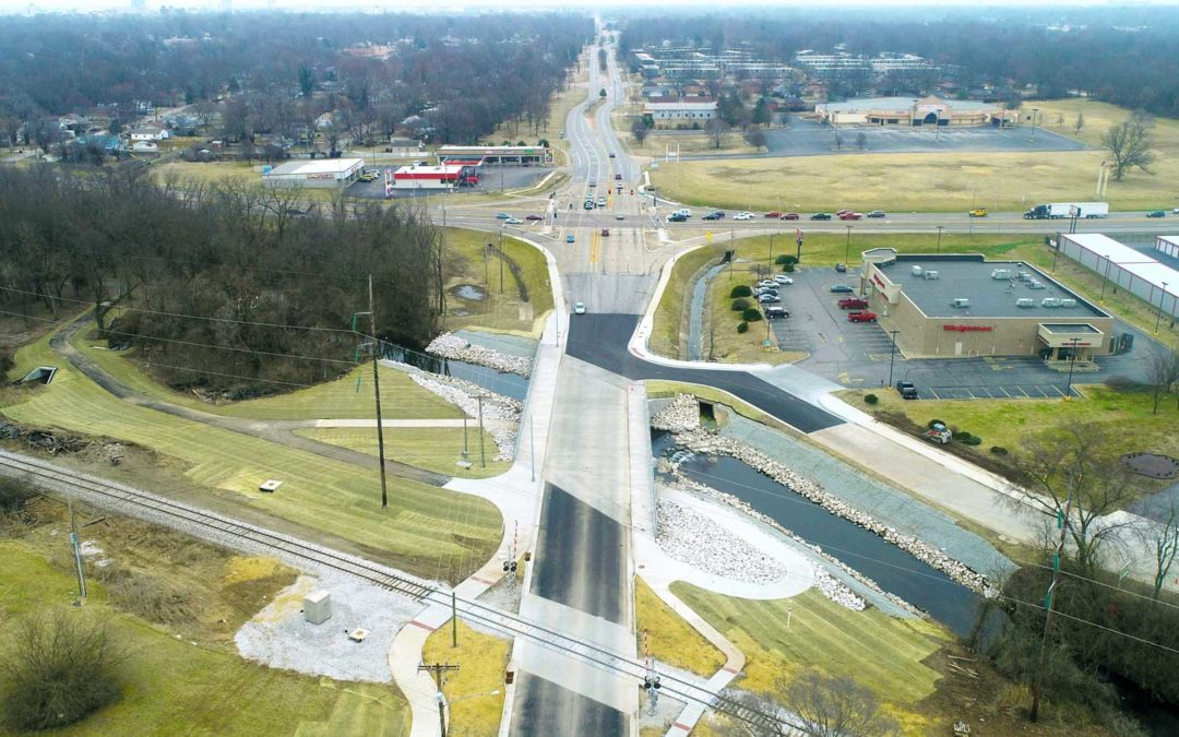 Grand Street Bridge Over Jordan Creek, Kansas Expressway to Park Avenue