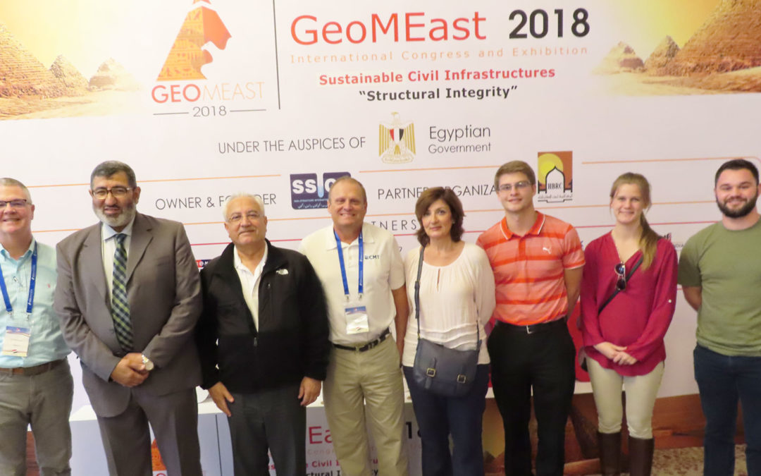 CMT's Own Abbey Buehler Presents at GeoMEast 2018 International Congress and Exhibition