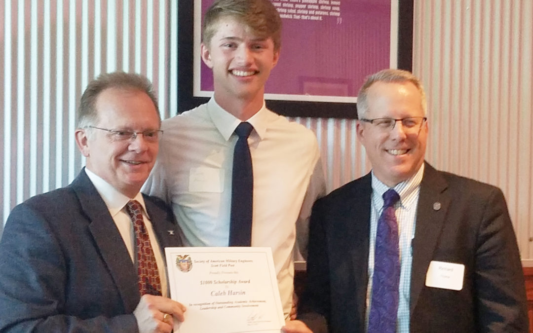 Student Receives CMT-Sponsored Scholarship from the Society of American Military Engineers (SAME), Scott Field Post