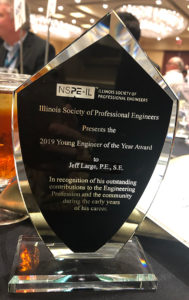 ISPE 2019 Young Professional of the Year Jeff Large Award