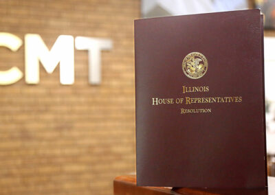Illinois House of Representatives Resolution to Congratulate CMT on 75 Years of Service