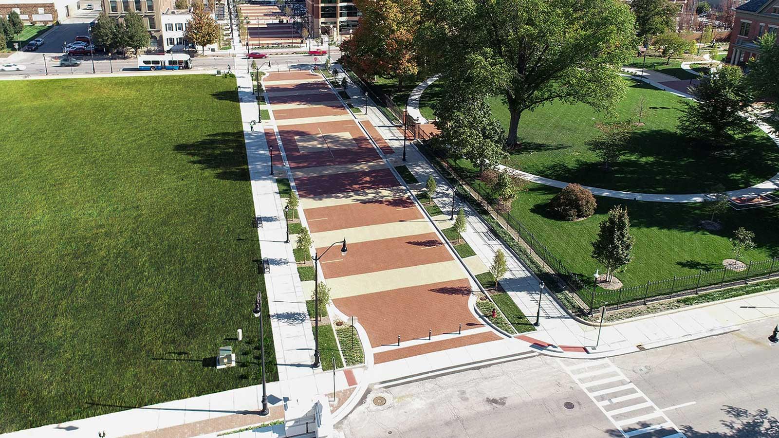 Jackson Street Corridor and Streetscape