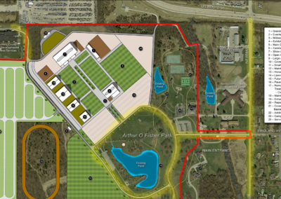 Montgomery County, OH Fair Grounds Plan Rendering
