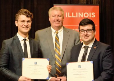 Two CMT-Sponsored Scholarships Provided to University of Illinois Urbana-Champaign Students