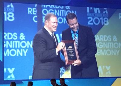 CMT's John Keeven Receives National 2018 American Public Works Association (APWA)'s Community Involvement Award