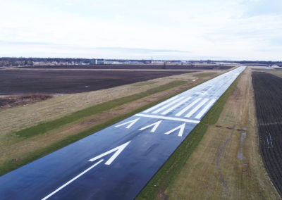 Port Bucyrus Airport Runway Rehabilitation Long View