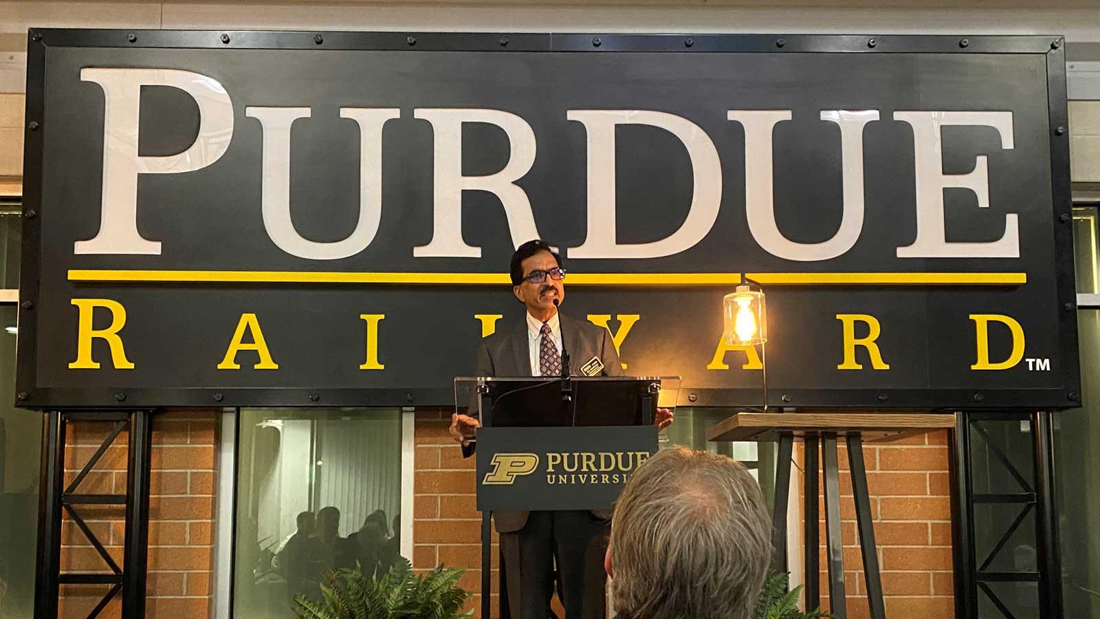 Purdue Scholarship 2021,  Dr. Govindaraju