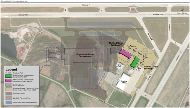 RFD South Apron Expansion Photo 1