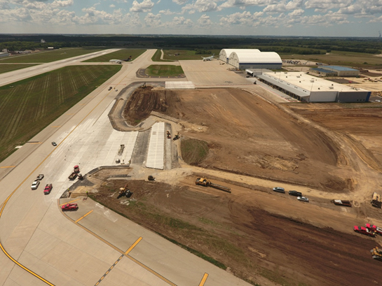 RFD South Apron Expansion Photo 2