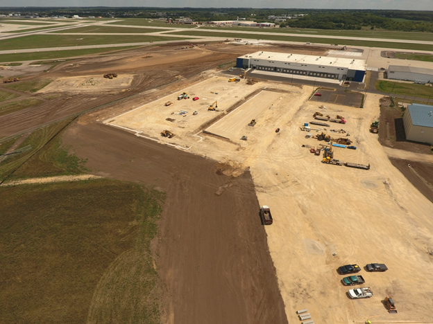 RFD South Apron Expansion Photo 3
