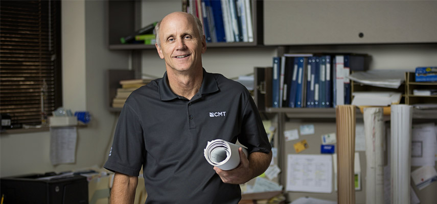 Long-Time Employee Steve Schroll Retires from CMT