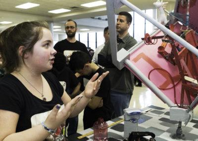 Dubois Student Explaining Machine