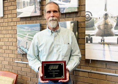 CMT's Terry Tappenbeck Recognized by the Illinois Public Airport Association (IPAA) as a Lifetime Member