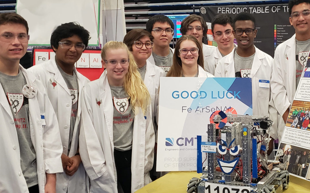 CMT Sponsors and Volunteers for Illinois FIRSTTech Championship Team