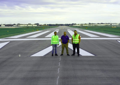 Chicago Executive Airport Runway 12-30 Rehabilitation Three Guys