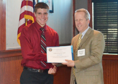 Scholarship Recipient for Society of American Military Engineers Scott Field Post Student, Sponsored by CMT