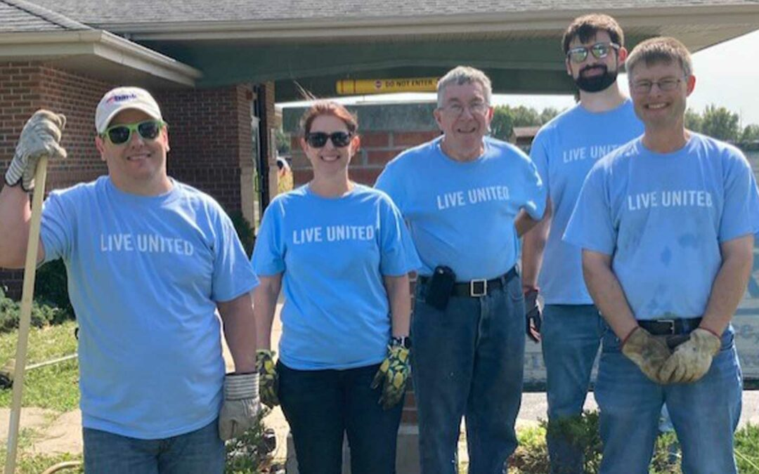 CMT Participates in the United Way of Central Illinois Fall 2021 Day of Action in Springfield, IL