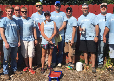 CMT's United Way Volunteers from Springfield, MO at 2018 Day of Caring