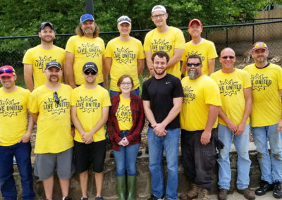 CMT's Springfield, MO Office Participates in the United Way of Ozarks 2019 Spring Day of Caring