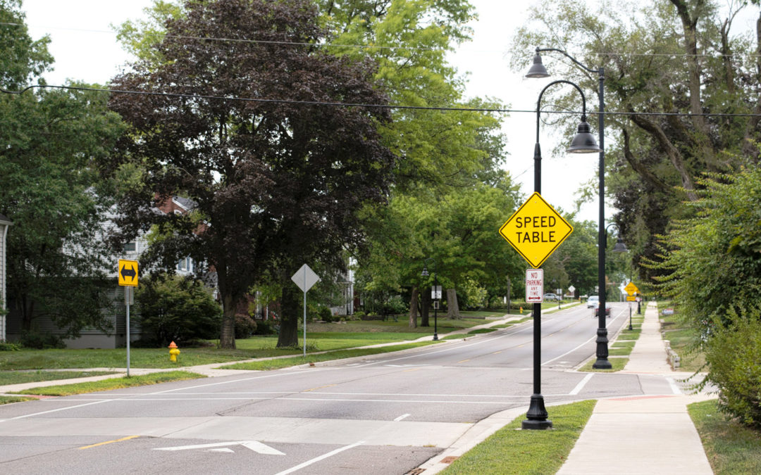 Arterial Street Reconstruction – University Street and Forrest Hill Avenue