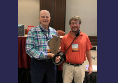 CMT's Bill Brown Receives Inaugural President's Award from the IPWSOA