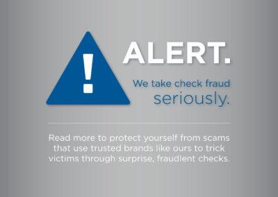 Fraud Alert